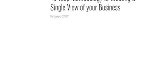 Building a Single View of your Business with MongoDB