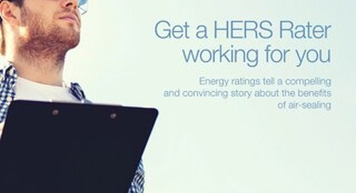 Get a HERS Rater Working for You
