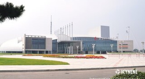 Intl Conference and Expo Center in China