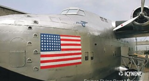 The Yankee Clipper - Foynes Flying Boat Museum in Ireland