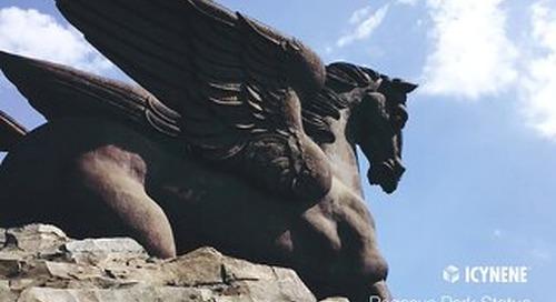 Pegasus Park Statue in Florida