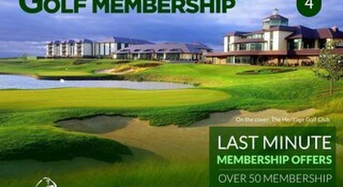 Golf Membership Digital Magazine - Issue 4