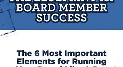 Whitepaper: Blueprint for Board Member Success