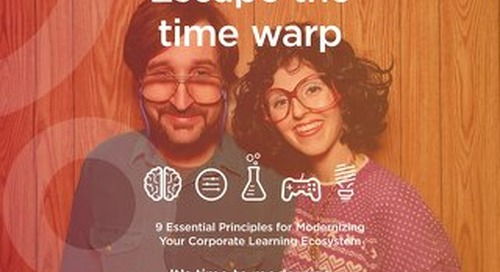 9 Principles for Modernizing Corporate Learning