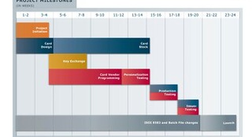 EMV Implementation Timeline Infographic