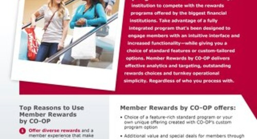 Member Rewards Slipsheet