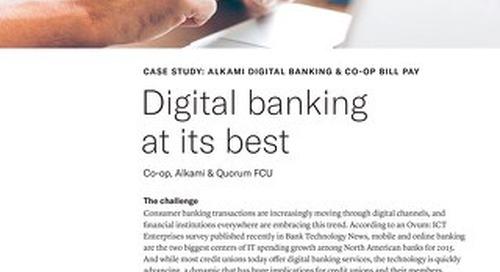 Digital Banking Case Study Quorum FCU