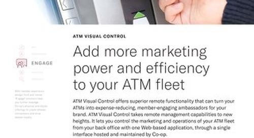 ATM Visual Control Slipsheet