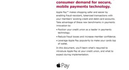 Apple Pay Startup Guide
