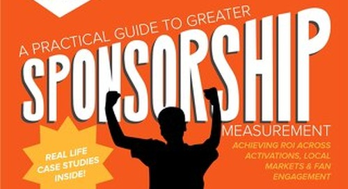 A Practical Guide to Greater Sponsorship Measurement