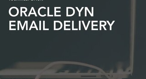 Technical Brief - Dyn Email Delivery