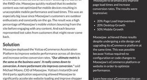 Case Study: Moosejaw