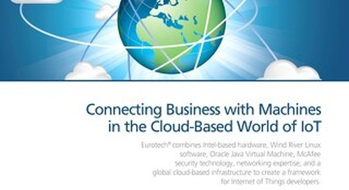 Connecting Business with Machines in the Cloud-Based World of IoT
