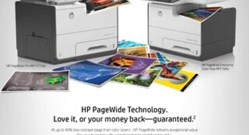 HP, Inc. Offer: Officejet Pro X Money Back Guarantee