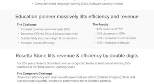 QuanticMind Customer Success Story - Rosetta Stone