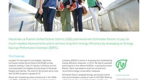 Education: Hacienda La Puente USD