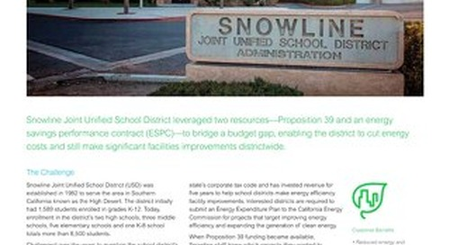 Education: Snowline Joint USD