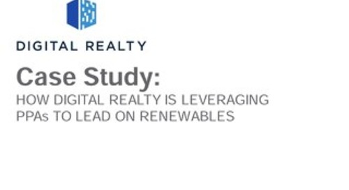 Real Estate: Digital Realty