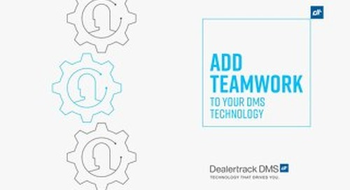Add Teamwork to your DMS Technology
