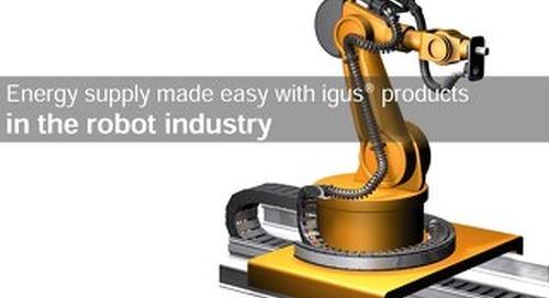 Robotics industry energy supplies made easy