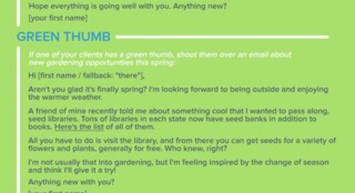 Spring Email Templates