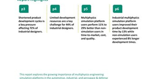Multiphysics Simulation Platforms Supercharge Industrial Design