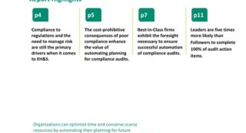 The Value of Automated Planning for Compliance Audits