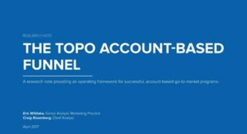 The TOPO Account-Based Funnel