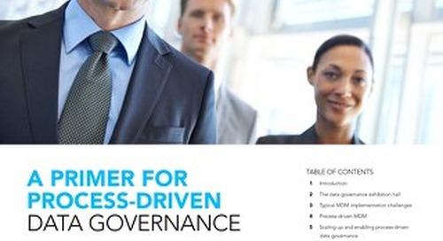 Primer for process-driven data governance