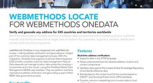 Verify & geocode addresses worldwide!