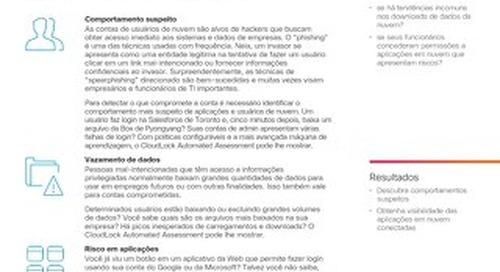 Cisco Cloudlock Automated Assessment – Portuguese