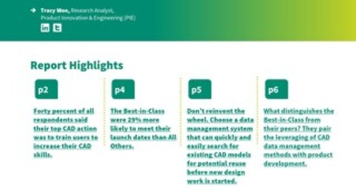 Computer-Aided Design (CAD) Data Management: Maximizing Development Productivity