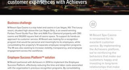 M Resort  Achievers Customer Success Story
