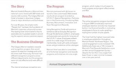Marriott Customer Success Story