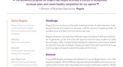 Rogers Customer Success Story