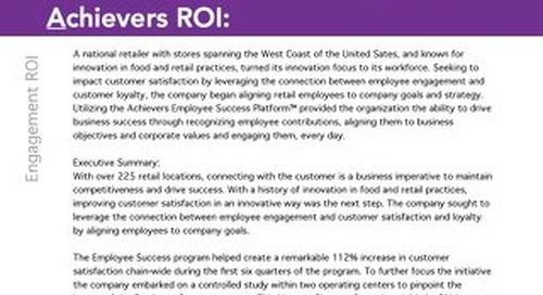 CSAT ROI Retail Customer Success Story