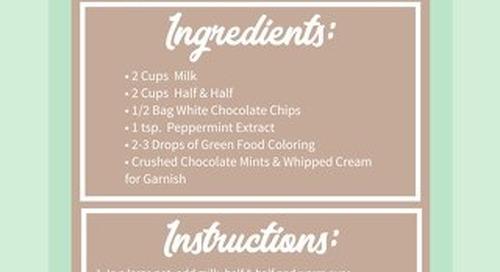 Campfire White Chocolate & Mint Hot Cocoa Recipe