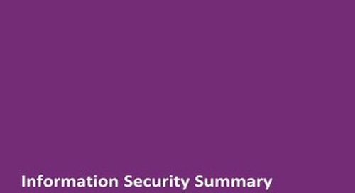 Achievers Information Security Summary (V2.0 2015)