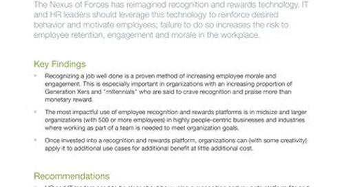 Technology Overview for Rewards and Recognition Software - Gartner