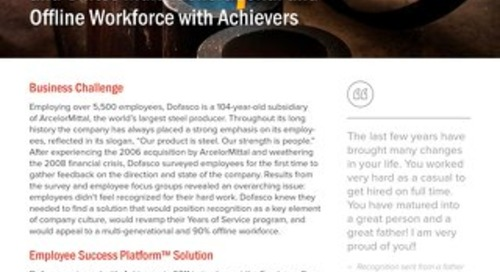 Dofasco - Achievers Customer Story