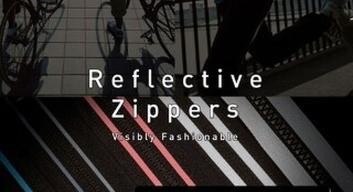 YKK Reflective Tape Zipper Catalog