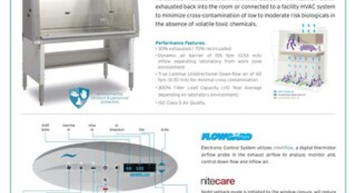 [Flyer] LabGard AIR NU-543 Class II, Type A2 Biosafety Cabinet