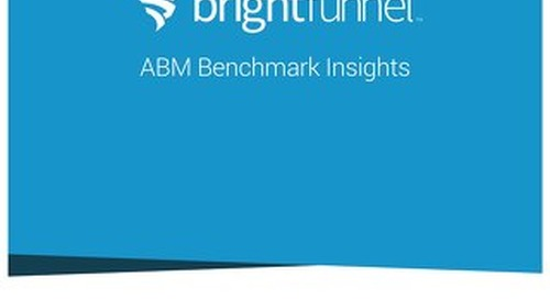 ABM Benchmark Insights Report 2016