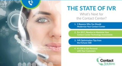 The State of IVR