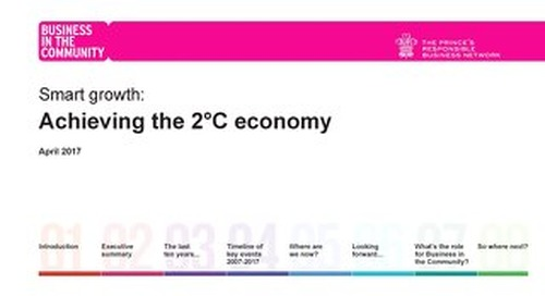 Smart Growth - Achieving the 2°C economy
