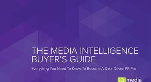 The Media Intelligence Buyer's Guide