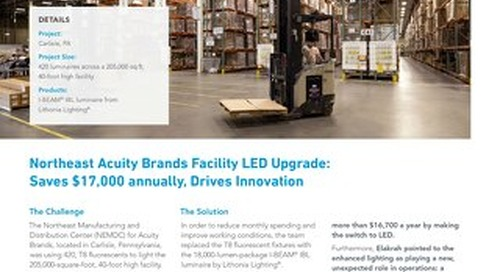 LED Warehouse, Zero Maintenance [Case Study]