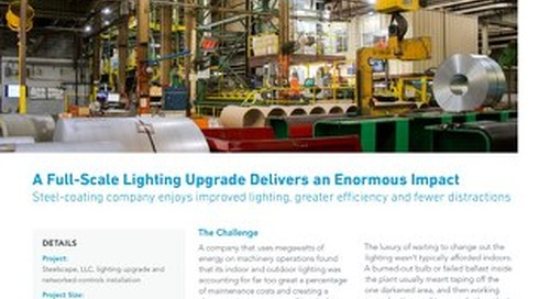 Steel-Coating Factory LED Upgrade [Case Study]