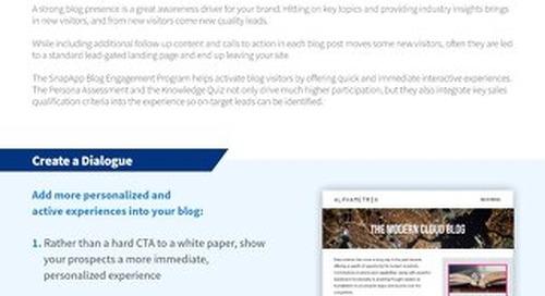 Programs: Blog Engagement Overview