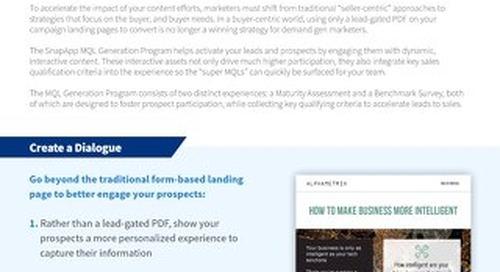 Programs: MQL Generation Overview